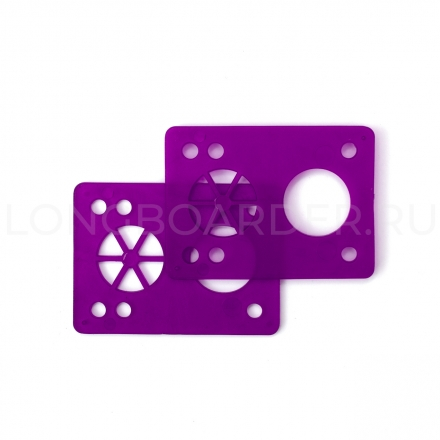 Шокпады для лонгборда Shock Pads - 1/8 (Purple)